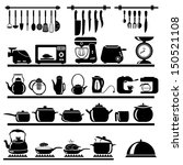 kitchen tool collection  ... | Shutterstock .eps vector #150521108