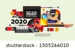 music festival illustration... | Shutterstock .eps vector #1505266010