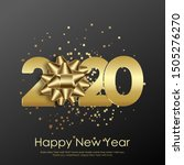 happy new year or xmas greeting ... | Shutterstock .eps vector #1505276270