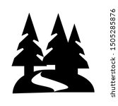 forest road icon   from travel  ... | Shutterstock .eps vector #1505285876