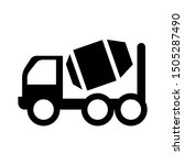 concrete truck icon   from...   Shutterstock .eps vector #1505287490