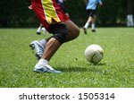 Passion for Soccer - stock photo