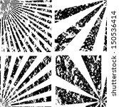 grunge spiral background.... | Shutterstock .eps vector #150536414