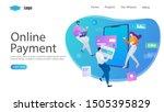 online payment vector...