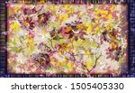 colorful ornamental vector... | Shutterstock .eps vector #1505405330