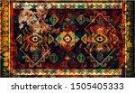 colorful ornamental vector... | Shutterstock .eps vector #1505405333