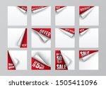 vector illustration. sticker.... | Shutterstock .eps vector #1505411096