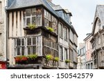 typical house timbered in... | Shutterstock . vector #150542579