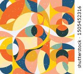 geometry minimalistic artwork... | Shutterstock .eps vector #1505452316