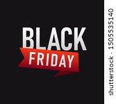 black friday sale template... | Shutterstock .eps vector #1505535140