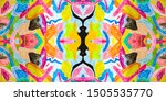 abstract doodle pattern.... | Shutterstock . vector #1505535770