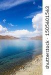 the sacred yamdrok lake in... | Shutterstock . vector #1505601563