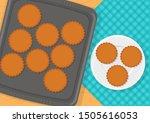 vector illustration of sweet...   Shutterstock .eps vector #1505616053