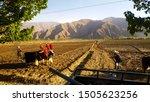 countryside in tibet autonomous ... | Shutterstock . vector #1505623256