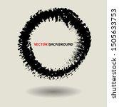 circle brush texture background ...   Shutterstock .eps vector #1505633753