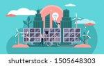 solar energy vector... | Shutterstock .eps vector #1505648303