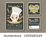 baby shower party vector... | Shutterstock .eps vector #1505683169