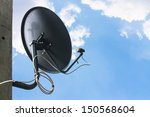 Satellite Television Aerial On...