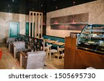 Stock photo modern interior cafeteria during day 1505695730