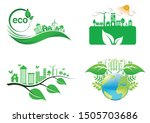 ecology connection  concept...   Shutterstock .eps vector #1505703686