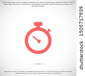 timer icon vector. waiting ...
