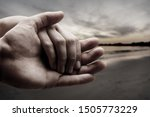 man and woman hands isolated on ...   Shutterstock . vector #1505773229