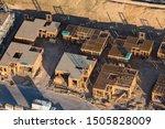aerial view of new neighborhood ...   Shutterstock . vector #1505828009