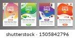 vektor modern fluid for big... | Shutterstock .eps vector #1505842796