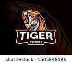 tiger mascot sport logo design. ...