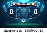 soccer football stadium... | Shutterstock .eps vector #1505901410
