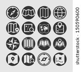 map icon set | Shutterstock .eps vector #150590600