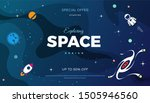 space exploration modern... | Shutterstock .eps vector #1505946560
