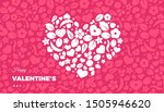 happy valentines day banner... | Shutterstock .eps vector #1505946620