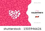 happy valentines day banner... | Shutterstock .eps vector #1505946626
