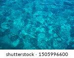 Still Calm Sea Or Ocean Blue...