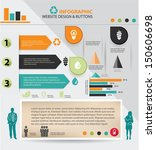 ecology and human resource...   Shutterstock .eps vector #150606698