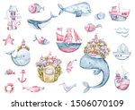 Nautical Collection. Set Of...