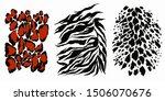 highly detailed animal skin... | Shutterstock .eps vector #1506070676