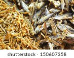 Dry Fish In The Market