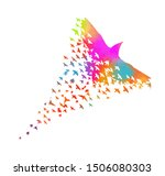 multi colored birds. abstract...   Shutterstock .eps vector #1506080303