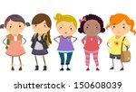stickman illustration featuring ... | Shutterstock .eps vector #150608039