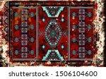 colorful ornamental vector...   Shutterstock .eps vector #1506104600