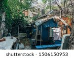 Old Poor Slum House In Voronezh ...