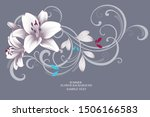 floral abstract background... | Shutterstock .eps vector #1506166583