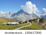 mountain trails. jungfrau... | Shutterstock . vector #150617300
