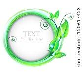 concept of natural design... | Shutterstock .eps vector #150617453