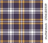 Tartan Plaid Pattern In Purple...