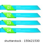 modern design style options... | Shutterstock .eps vector #150621530