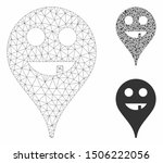 Mesh Toothless Smiley Map...