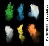 Freeze Motion Of Colored Dust...